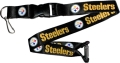 Pittsburgh Steelers NFL Black Lanyard