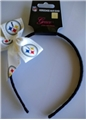 Pittsburgh Steelers NFL Grace Collection Bow Headband *CLOSEOUT*