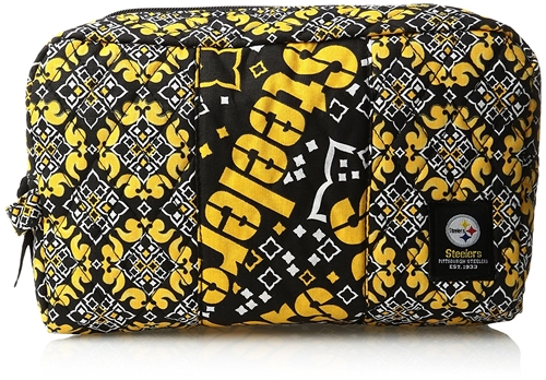 Pittsburgh Steelers NFL Fabric COSMETIC Bag *NEW*