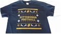 Pittsburgh Football Ugly Christmas Sweater T Shirt - One Dozen Assorted Sizes *SALE*
