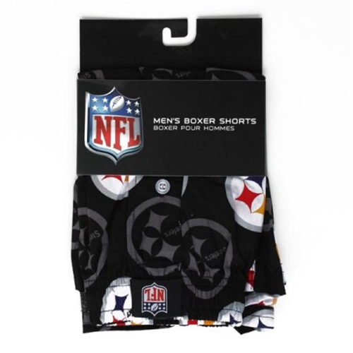 Pittsburgh Steelers NFL Men's BOXER SHORTS 6 Count Pack Assorted.Sizes *NEW*