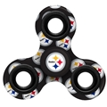 Pittsburgh Steelers NFL Multi Logo Printed 3 Way Fidget Spinners **SALE**
