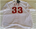 Philadelphia Phillies MLB #33 Lee Player Jersey Size L *CLOSEOUT*