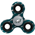 Philadelphia Eagles NFL Multi Logo Printed 3 Way Fidget Spinners **SALE**