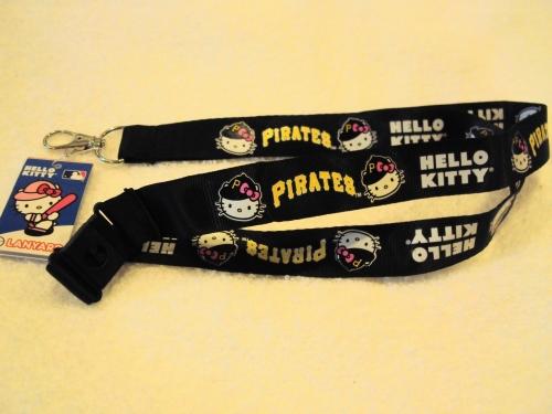 Pittsburgh Pirates MLB HELLO KITTY Lanyard