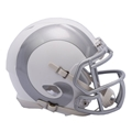 Los Angeles Rams NFL Speed Alternate ICE Riddell Mini Helmet *NEW*