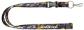 Baltimore Ravens NFL Team Color Camo Lanyard