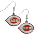 Cincinnati Reds MLB Dangle Earrings