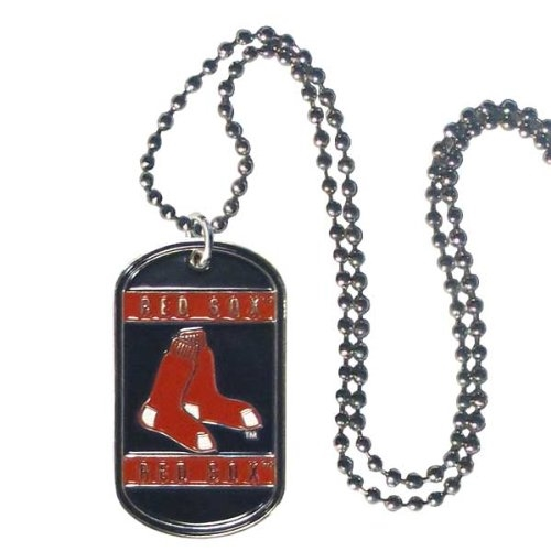 Boston RED SOX MLB Dog Tag Necklace