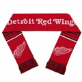 "Detroit Red Wings NHL 60"" Reversible Stripe Knit Scarf *SALE*"