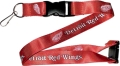 Detroit Red Wings NHL Red Lanyard