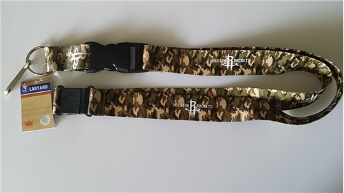 Houston Rockets NBA Camo Lanyard *SALE*