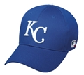Kansas City Royals MLB Blue Cotton Twill Adult Adjustable Hat