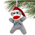 Los Angeles Chargers NFL Sock Monkey Ornament *CLOSEOUT*