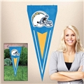 "Los Angeles Chargers NFL 34"" x 14"" Embroidered 1-Sided Yard & Wall Pennant Flag **CLOSEOUT**"