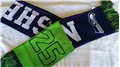 "Seattle Seahawks Reversible NFL #25 Sherman 60"" Team Knit Player Scarf *NEW*"