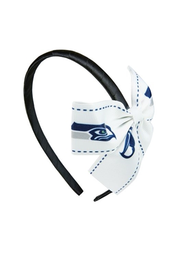 Seattle Seahawks NFL Grace Collection BOW Headband