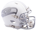 Seattle Seahawks NFL Speed Alternate ICE Riddell Mini Helmet *NEW*