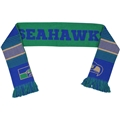 "Seattle Seahawks Reversible Retro NFL 60"" Team Knit Scarf *NEW*"