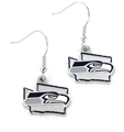 Seattle Seahawks State Design NFL Dangle Earrings *NEW*