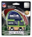 Seattle Seahawks NFL Wooden Toy Train