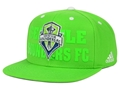 Seattle Sounders FC Soccer Club Adidas MLS Academy Snapback Cap **NEW**