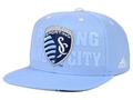 Sporting KC Kansas City Soccer Club Adidas MLS Academy Snapback Cap **SALE**