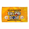 Pittsburgh Steelers Official Steel Beam Gold Original Terrible Towel **NEW**