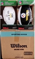 Pittsburgh Steelers NFL Wilson Official Size 3 Panel Autograph Football *NEW*