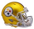Pittsburgh Steelers NFL Riddell Blaze Alternate Speed Mini Helmet *NEW Limited Edition*