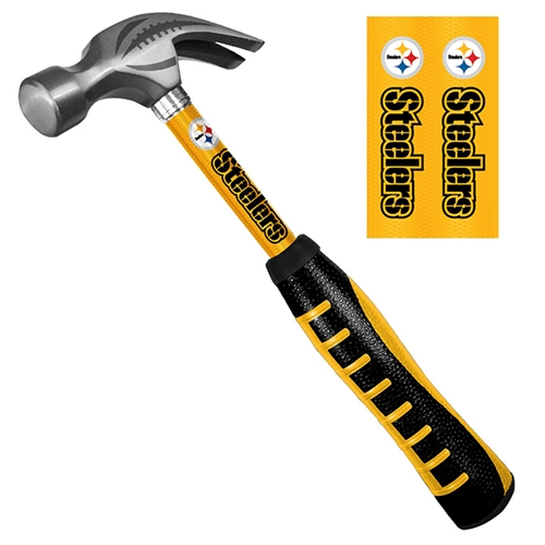 Pittsburgh Steelers NFL Pro-Grip 16oz. HAMMER