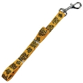 "Pittsburgh Steelers Official Gold Terrible Towel 3/4"" x 60"" Dog Leash"