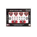 Georgia Bulldogs NCAA Face and Nail Sport Stick-Ons Pack *CLOSEOUT*