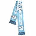 "North Carolina Tar Heels BIG Logo NCAA 60"" Knit Scarf *SALE*"