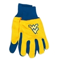 West Virginia Mountaineers NCAA Two Tone Sport Utility Work Gloves *SALE*