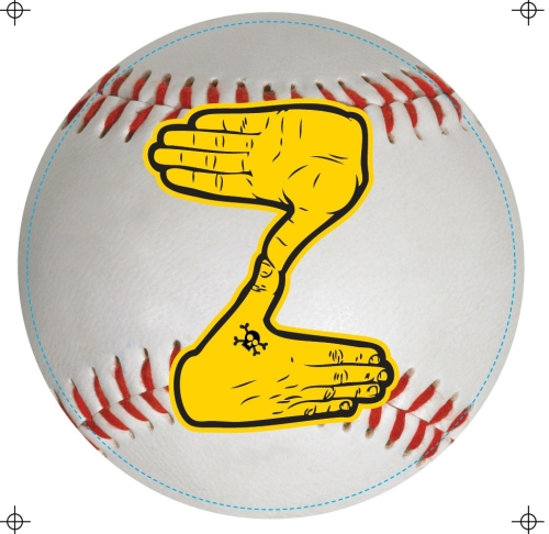 "Pittsburgh Pirates Baseball Z Zoltan 5-3/4"" Vinyl Car Magnet *CLOSEOUT*"