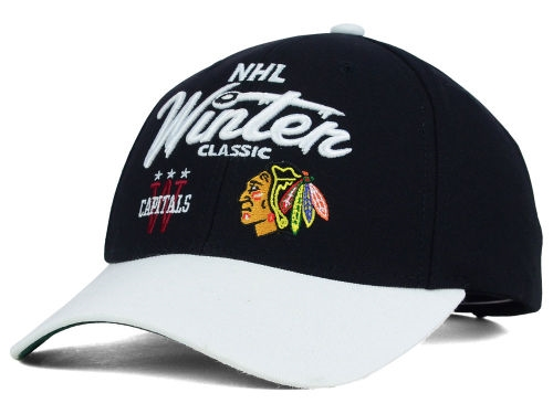2015 Winter Classic Reebok NHL Dueling Team Logo Adjustable Cap *CLOSEOUT*