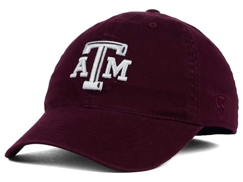 Texas A&M Aggies NCAA Top of the World Relaxer Stretch Fit Hat *SALE* Size S/M