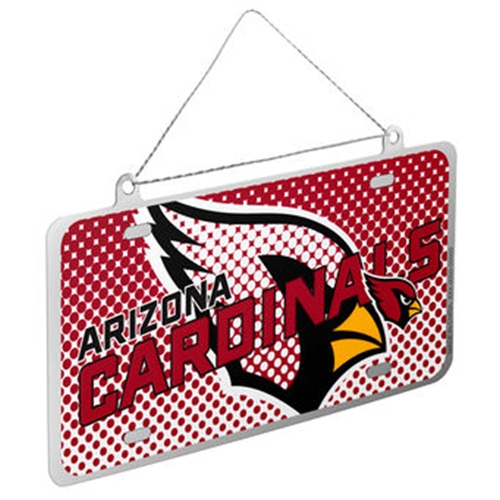 Arizona Cardinals NFL Metal License Plate Ornament *SALE*