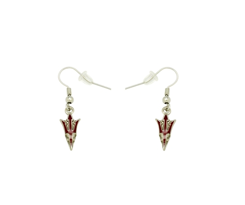 Arizona State Sun Devils NCAA Dangle Earrings *SALE*