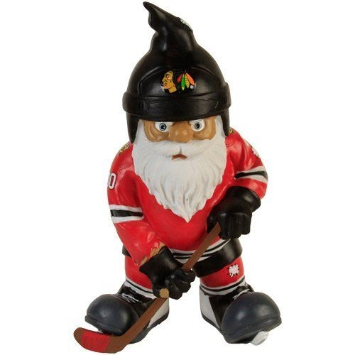 Chicago Blackhawks NHL Resin Action Gnome Ornament *SALE*