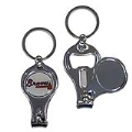 Atlanta Braves MLB 3 in 1 Metal Key Chain *CLOSEOUT*