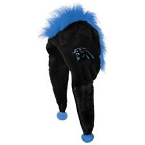 Carolina Panthers NFL Mohawk Short Thematic Dangle Hat *SALE*