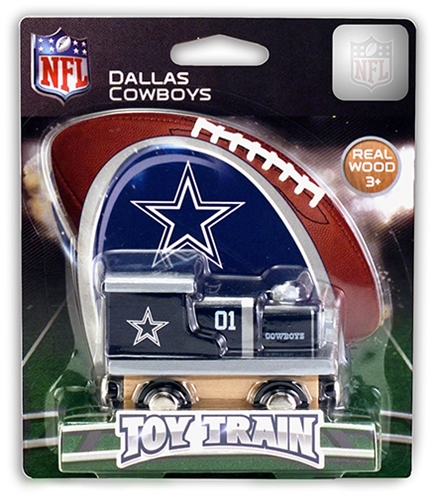 Dallas Cowboys NFL Wooden Toy Train *NEW*