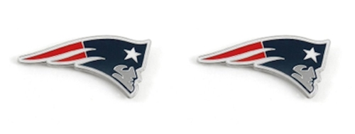New England Patriots NFL Post Stud Earrings