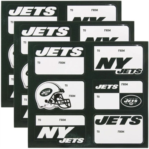 New York Jets NFL Team Gift Stickers