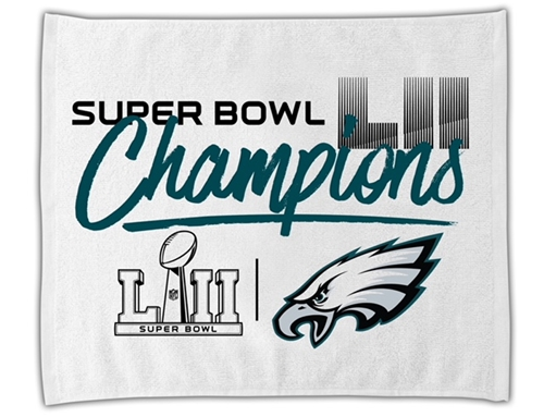 Philadelphia Eagles Super Bowl LII (52) Champions NFL Rally Towel **NEW**