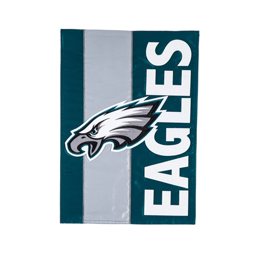 "Philadelphia Eagles NFL 28""x 44"" Embellish 2-Sided Vertical Banner *NEW*"