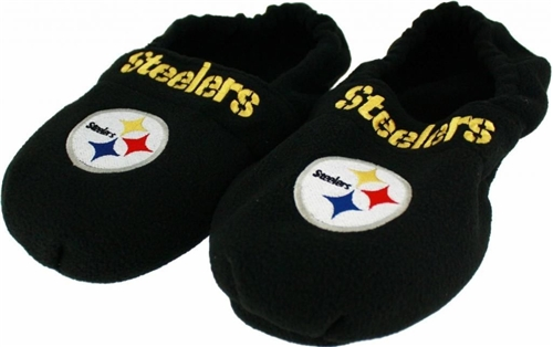 Pittsburgh Steelers NFL Hot Footies Slippers 12 Count Case *CLOSEOUT*