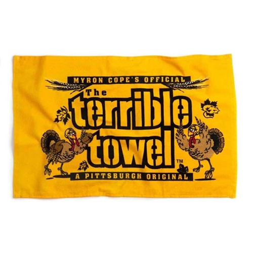Pittsburgh Steelers Official Gold Terrible Towel Thanksgiving Edition